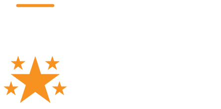 5 star excellence award medal
