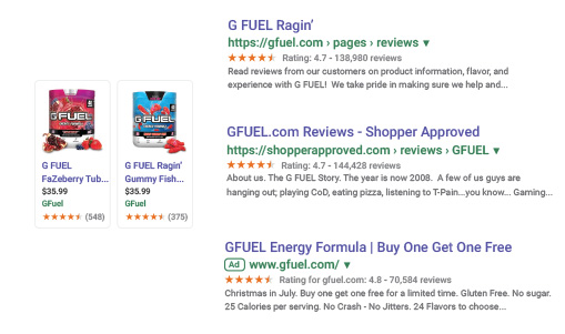Shopper Approved - Google Syndication