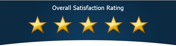 Overall Satisfaction Rating 5/5