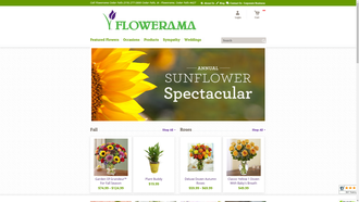 1800flowerscedarfalls.flowerama.com reviews