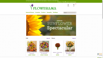 1800flowerscrjohnsonave.flowerama.com reviews