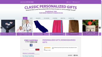 classicpersonalizedgifts.com reviews