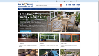 DecksDirect.com reviews