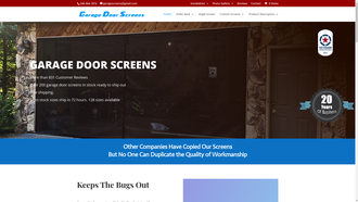 GarageDoorScreens.com reviews