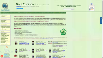 goutcure.com reviews