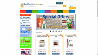 HandSanitizerStore.com reviews