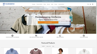 housekeepinguniforms.com reviews