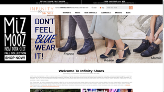 Infinityshoes.com reviews