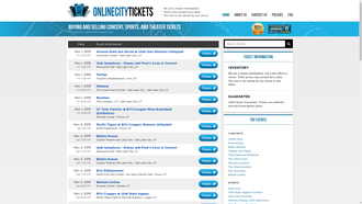 OnlineCityTickets.com reviews