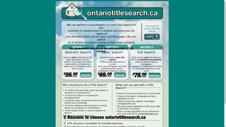 ontariotitlesearch.ca reviews
