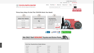 parts.olathetoyota.com reviews