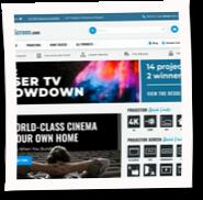 projectorscreen.com reviews