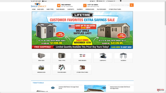 ShedsDirect.com reviews