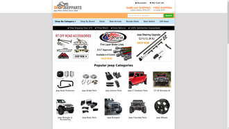 shopjeepparts.com reviews