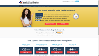 texasdrivingschool.com reviews