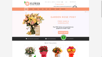 theflowerdeliverycompany.co.nz reviews