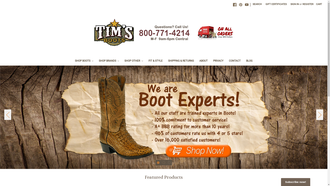 TimsBoots.com reviews