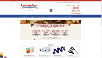 www.LaminationDepot.com reviews
