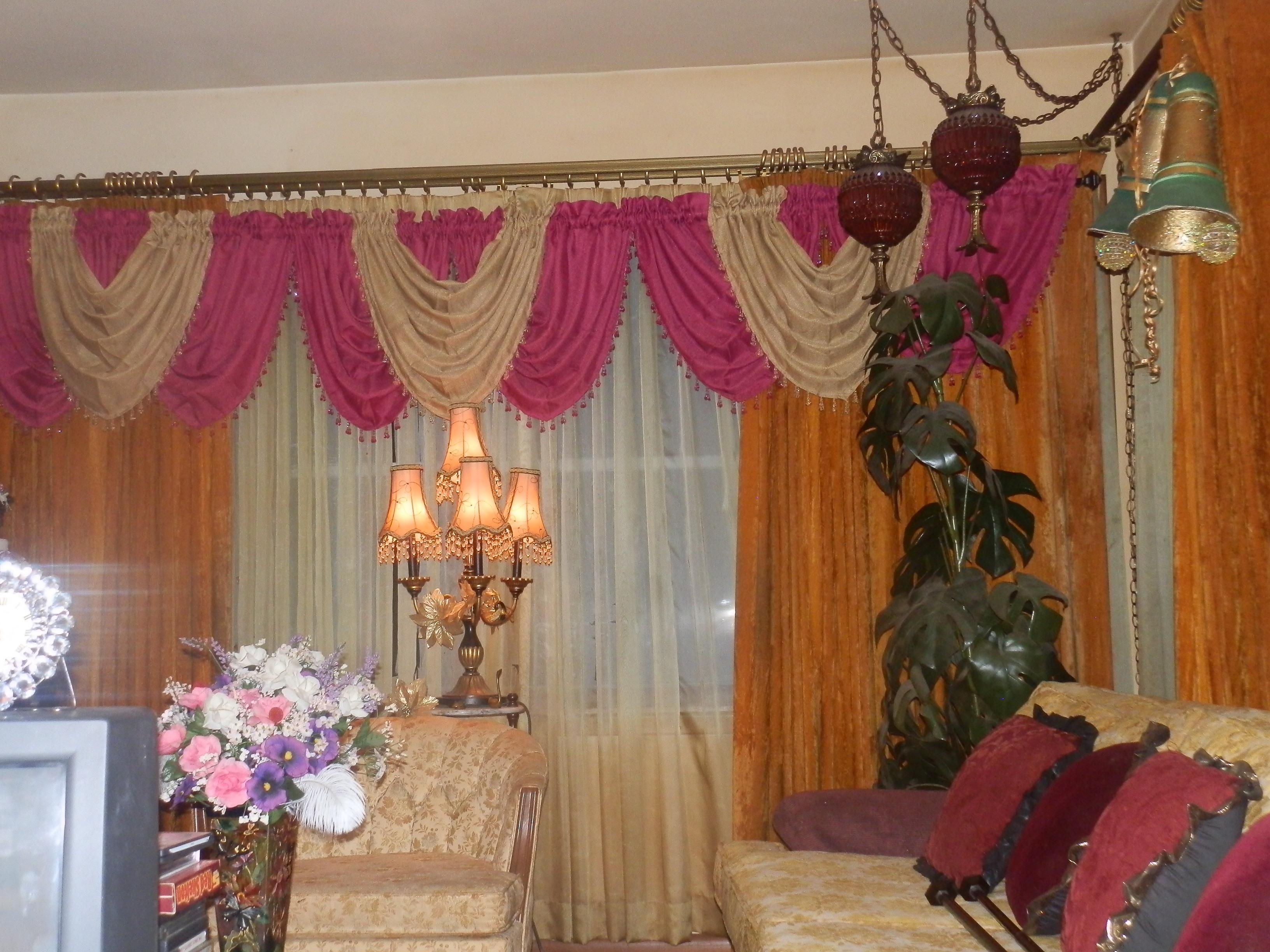 elegante valance p valances light window gold expand click to decorative tuck treatment sequined x