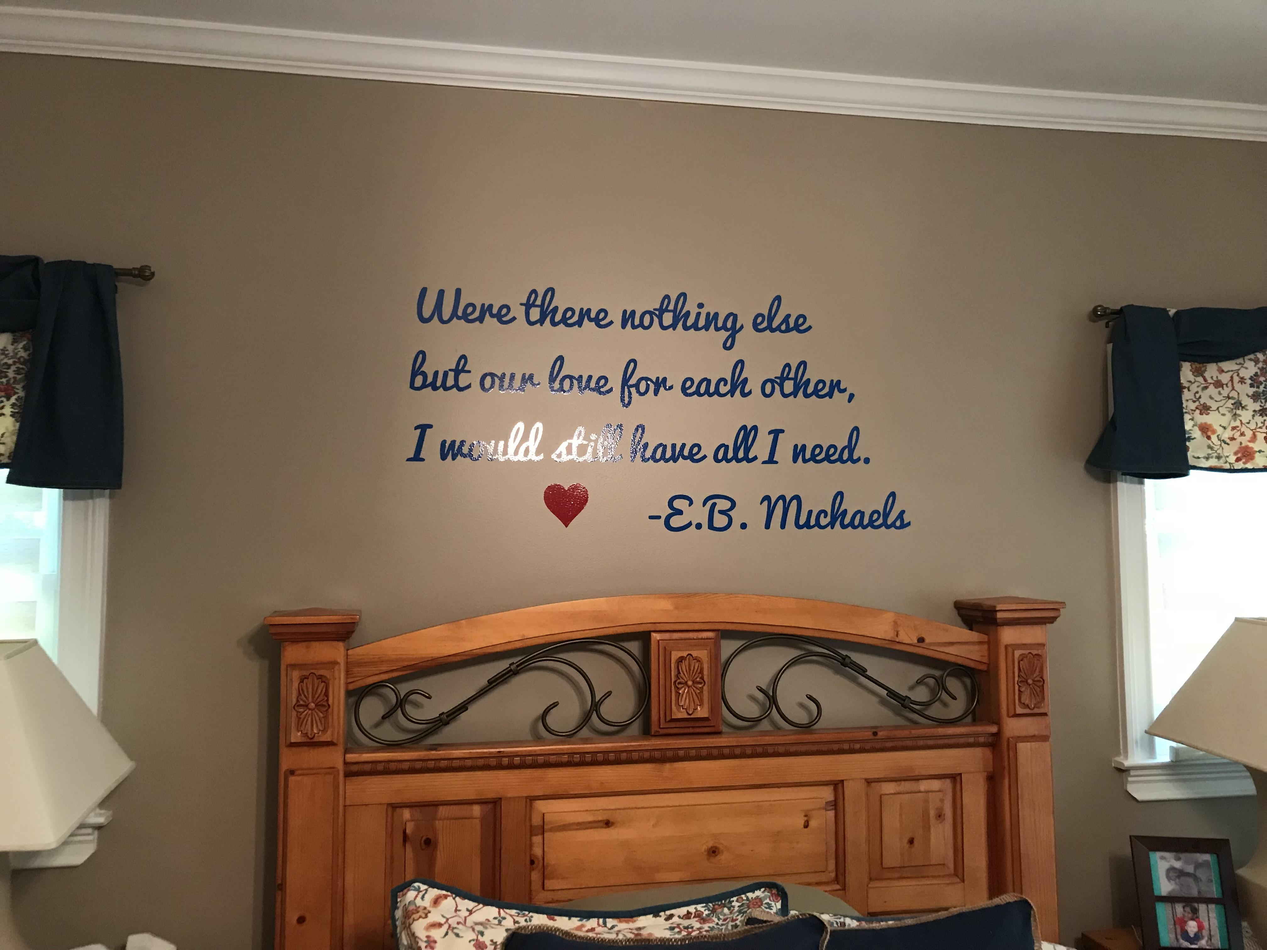 Custom Wall Quotes Sayings Letters Signscom