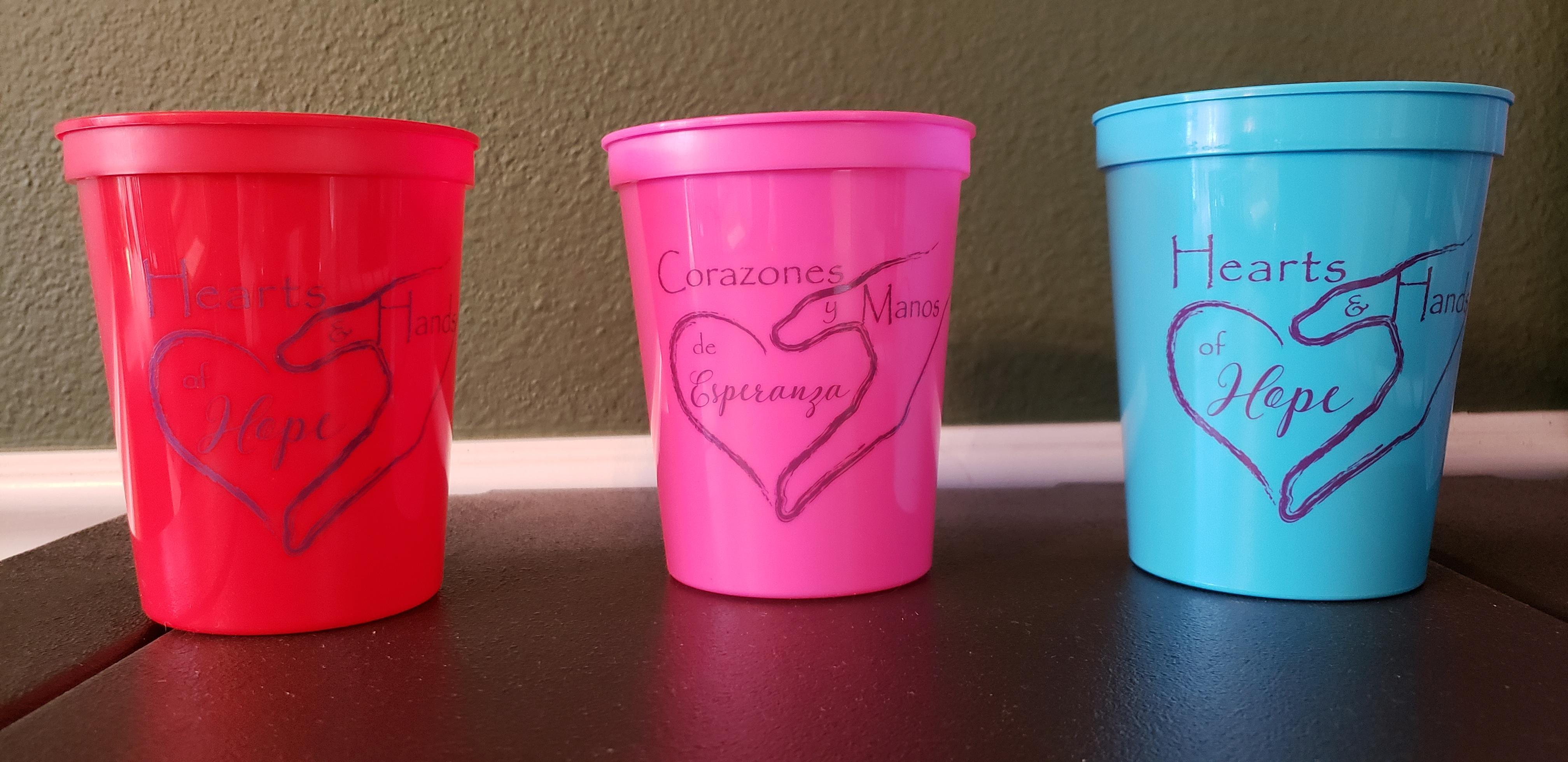 16 oz. Plastic Stadium Cups TSC102