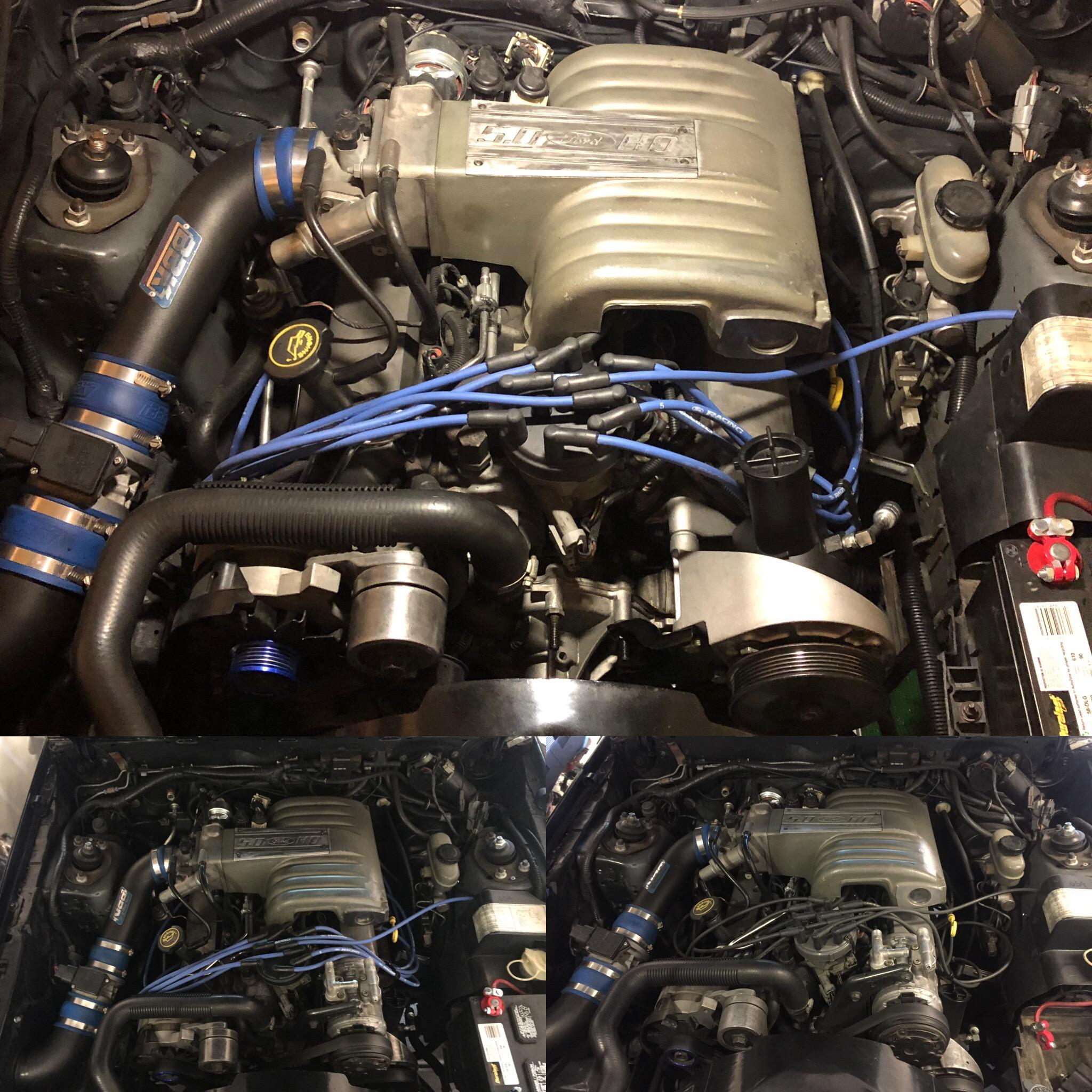 Mustang Power Steering Bracket 85 93 50 1986 5 0 Carb Wiring Harness To Buy The Too Because She Had An F150 For Some Reason Im Happy With Look And Installation Was Easy