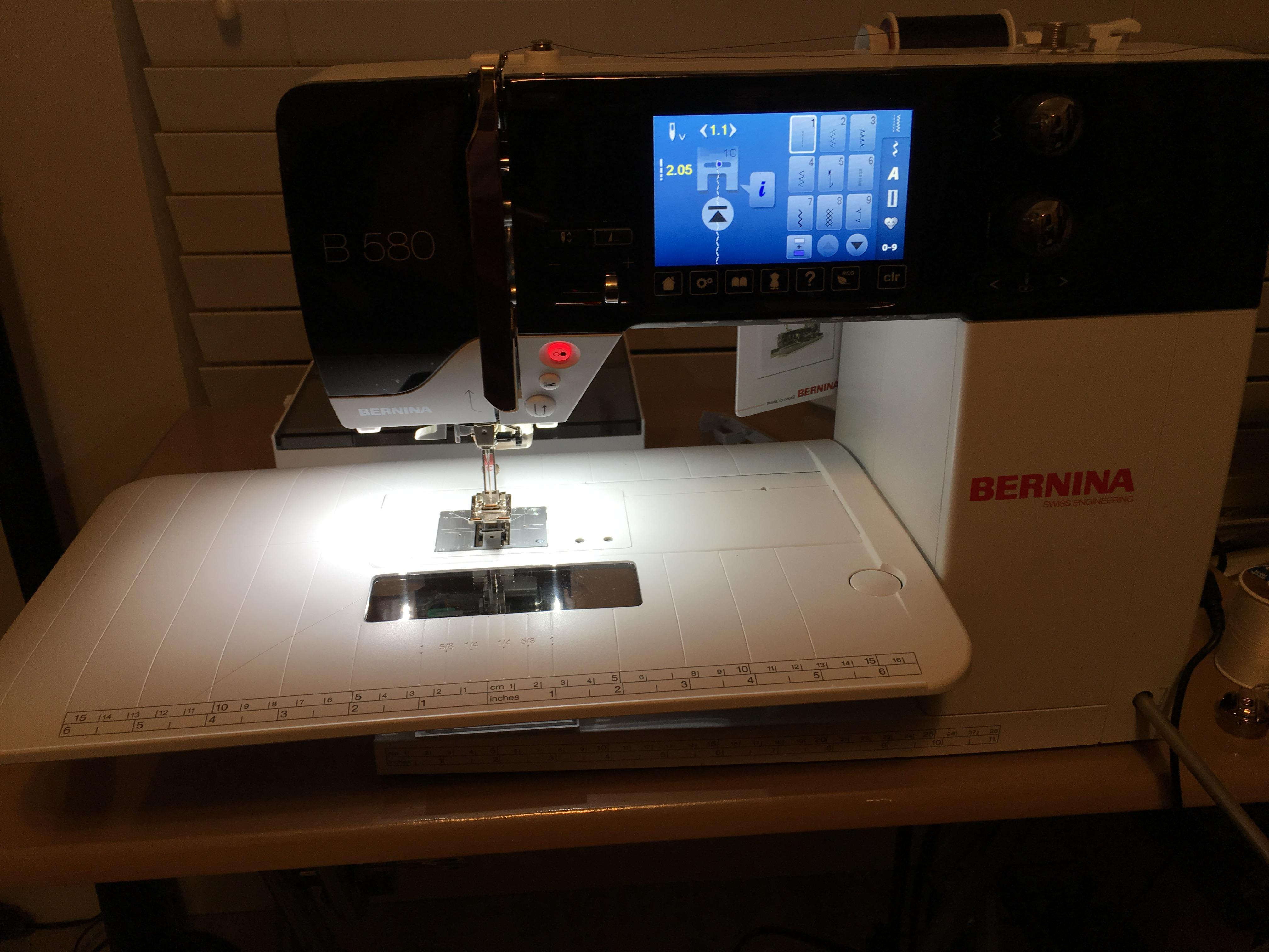 Bernina B 580 | Bernina Sewing and Embroidery Machine