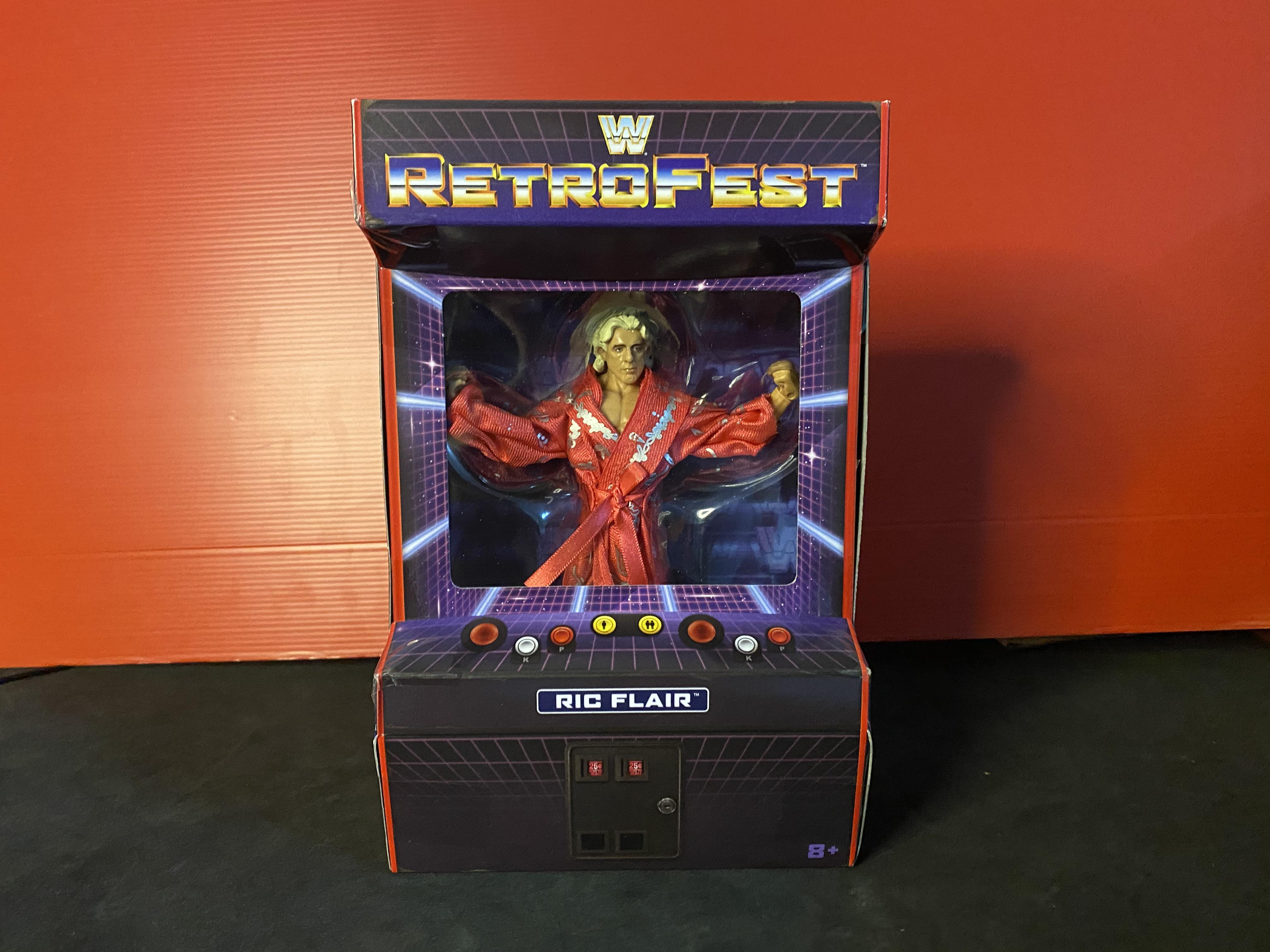 RetroFest WWE Elite Exclusive RIC Flair Wrestling Limited Edition Figure Mattel