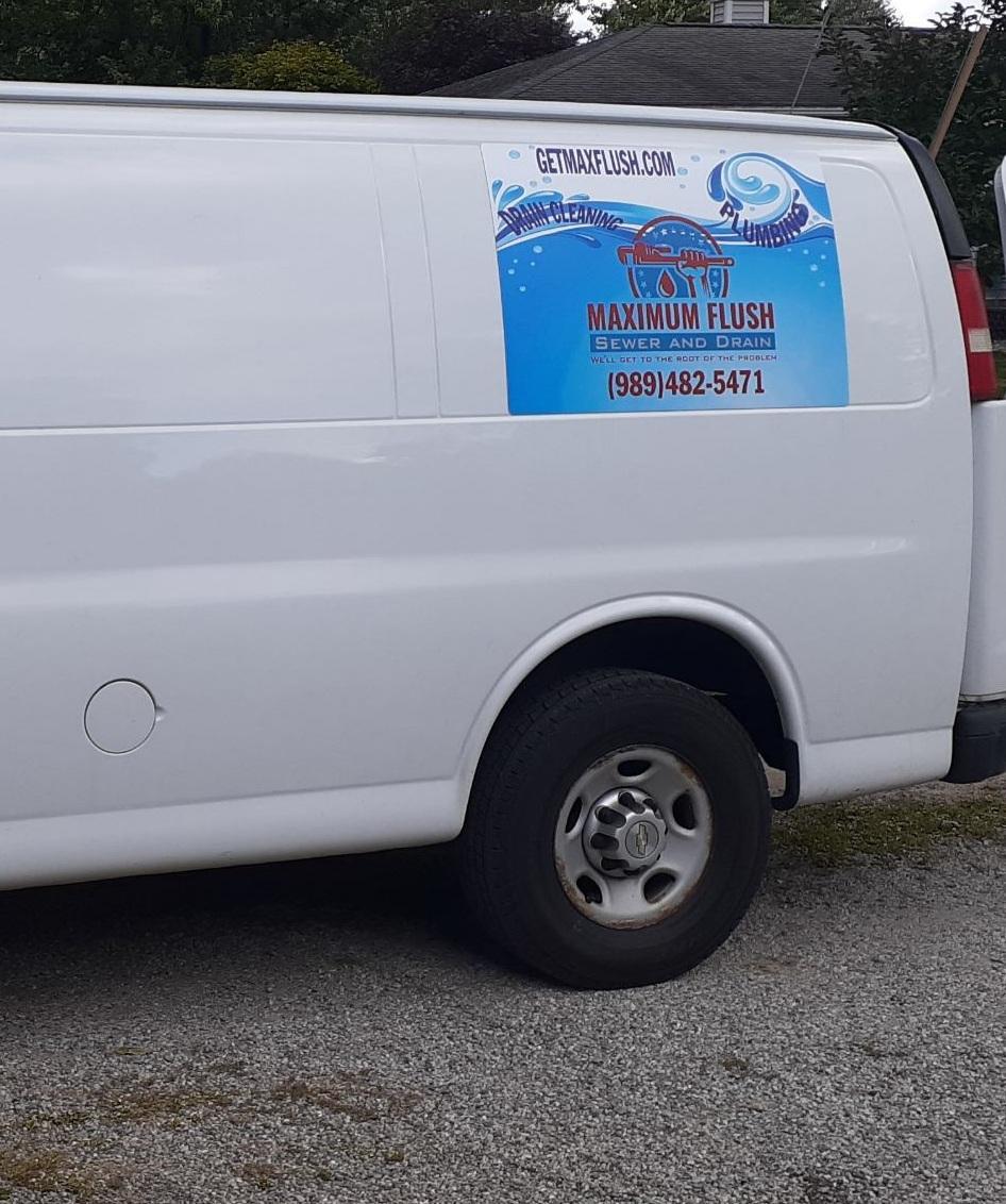 For Custom Magnetic Van Signs