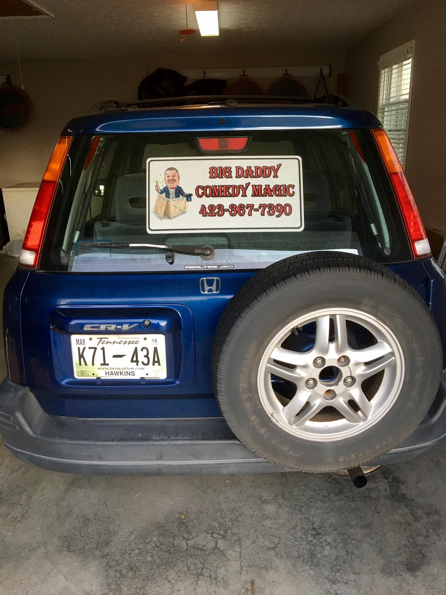 Perforated Car Window Decals Signscom - Truck rear window decals   how to purchase and get a great value safely